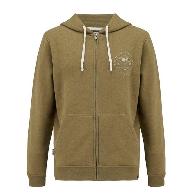 Толстовка FULL ZIP HOODY Зеленая