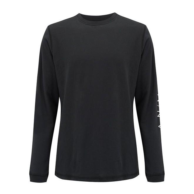 Футболка LONG SLEEVE SHIRT Черный