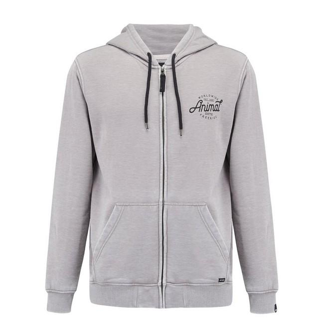 Толстовка FULL ZIP HOODY Серая