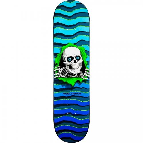 Дека для скейтборда Powell Peralta New School Ripper Голубая