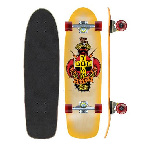 Комплект Dogtown OG Rider PC Tail Tap Skateboard Complete Желтый
