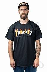 Футболка Thrasher Flame Mag