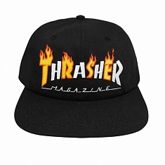 Бейсболка Thrasher Flame Mag